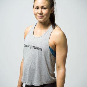 Crossfit Tank top träningskläder dam